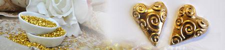 Herz mit Spruch zur Goldenen Hochzeit