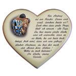 Herz mit Vers und Motiv als Heiratsantrag