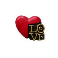 Herz mit Spruch Love