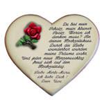 Herz mit Gedicht zum Hochzeitstag