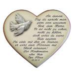 Geschenk zur Konfirmation als Herz mit Spruch